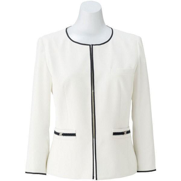 ボンマックス ジャケット ホワイト 19号 LJ0764-15-19 1着(直送品)