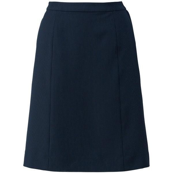 ボンマックス Aラインスカート ネイビー×ブルー 19号 LS2753-28-19 1着(直送品)