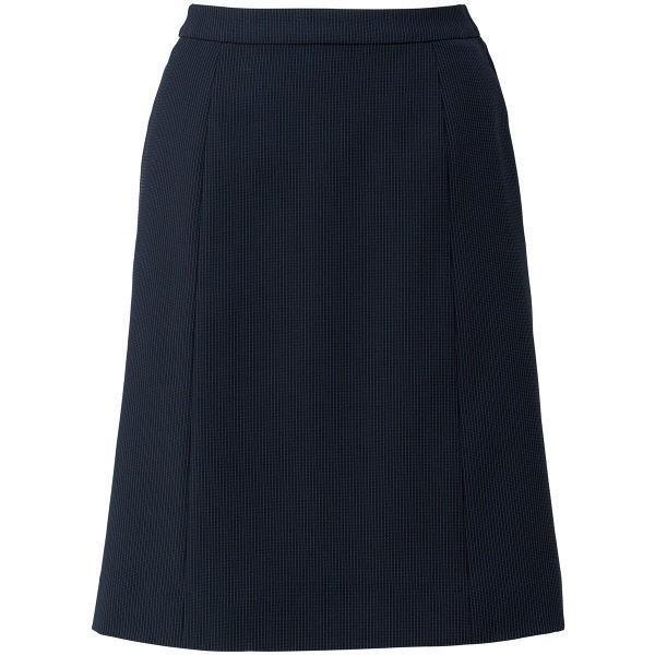 ボンマックス Aラインスカート ブラック×パープル 11号 LS2753-30-11 1着(直送品)