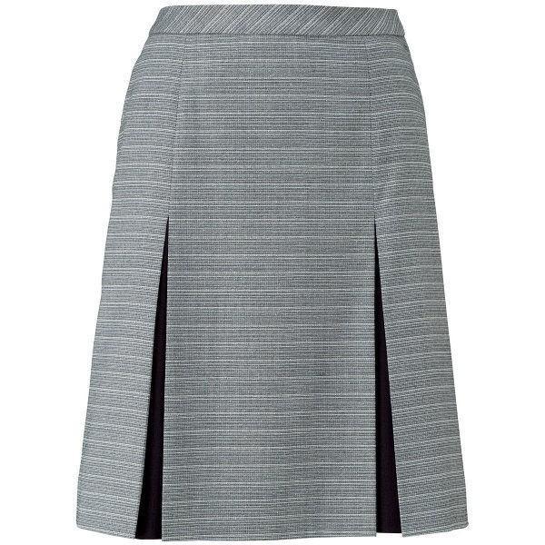 ボンマックス プリーツスカート グレイ×ブルー 11号 LS2757-32-11 1着(直送品)
