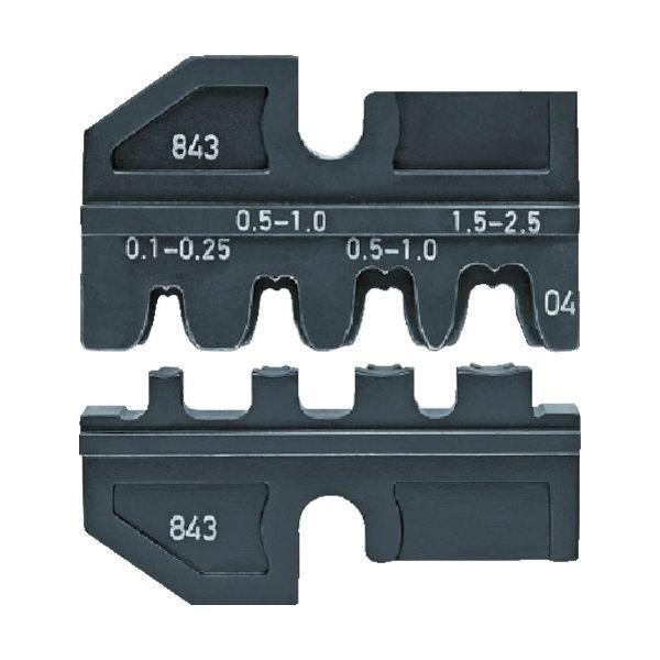 KNIPEX(クニペックス) KNIPEX 圧着ダイス (9743-200用) 9749-14 1個 773-8340 (直送品)