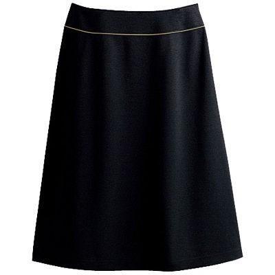 セロリー(Selery) スカート ブラック 13号 S-16460 1着(直送品)