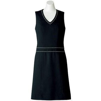 ボンマックス BONOFFICE ジャンパースカート ブラック 9号 AO5800-16 1着 (直送品)