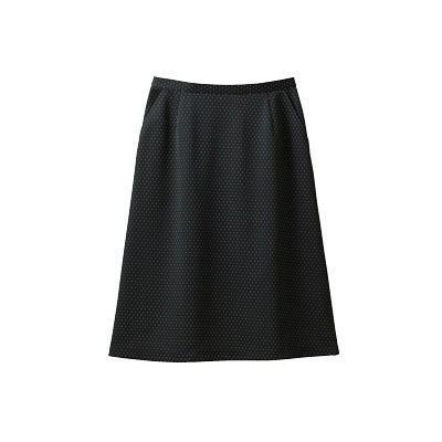 セロリー(Selery) Aラインスカート ブラック 15号 S-16530 1着(直送品)