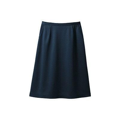 セロリー(Selery) Aラインスカート ネイビー 5号 S-16531 1着(直送品)