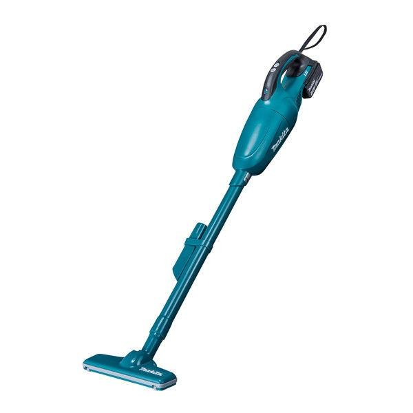 マキタ 掃除機 充電式クリーナー バッテリー・充電器付 青 CL181FDRF(直送品)