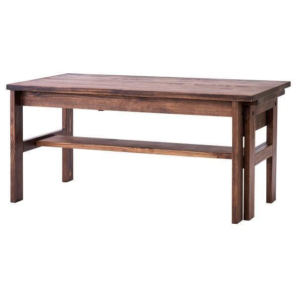 吉桂 吉桂 SOME エクステンションテーブル ブラウン 幅900×奥行480×高さ420mm 1台 (直送品)