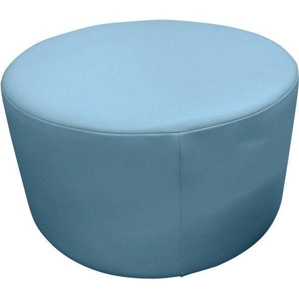 URBAN URBAN 国産スツール円形 ブルー 幅700×奥行700×高さ400mm STA-7070-BL 1脚 (直送品)