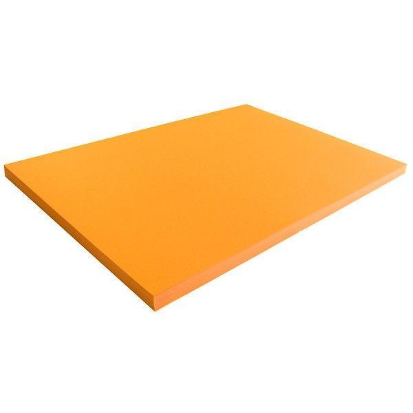 大王製紙 再生色画用紙四切 箱入 オレンジ C-845 1箱(500枚:100枚入x5袋) (直送品)