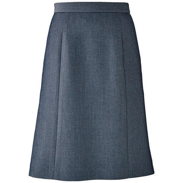 ボンマックス BONOFFICE BONOFFICE BONOFFICE Aラインスカート ブルーグレイ 11号 AS2806-8-11 (直送品) aed