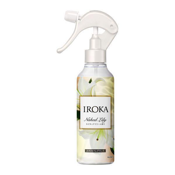 フレアフレグランス IROKA イロカ ミスト ネイキッドリリーの香り 200ml 本体 おすすめ 花王 ついに入荷