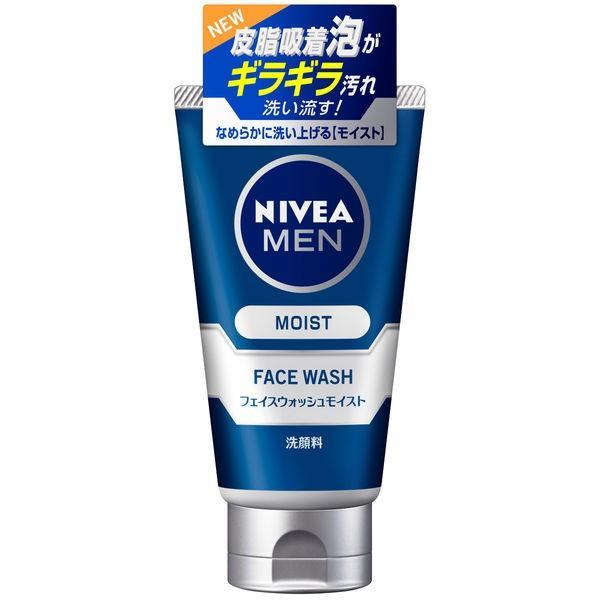 ニベアメン 洗顔料 フェイスウォッシュ 男の肌は女性と比べて乾きやすい お買い得品 !超美品再入荷品質至上! モイスト 100g