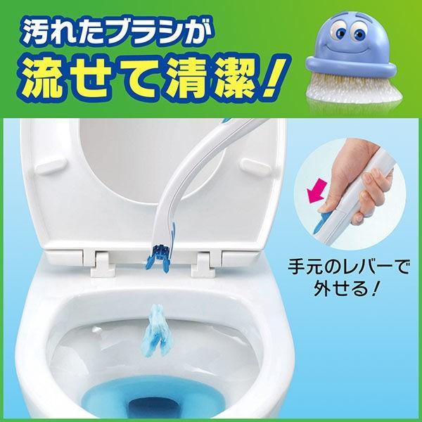 ブラシ スクラビング バブル トイレ