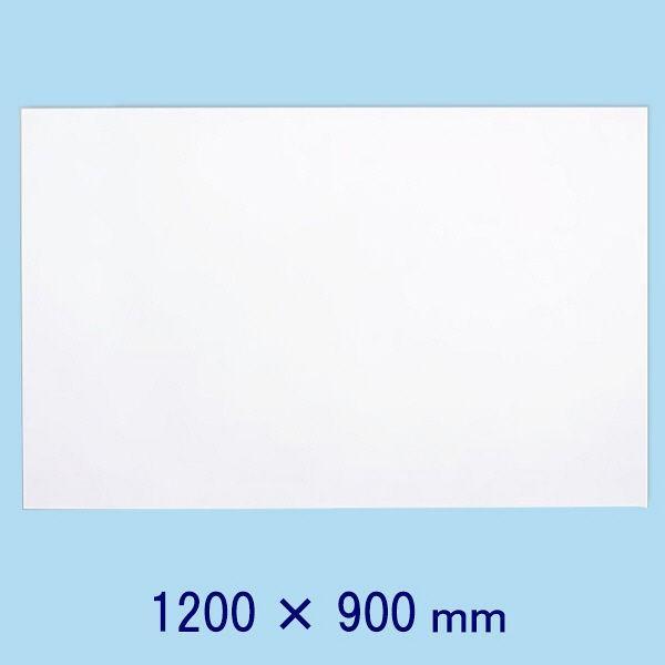 マグエックス 薄型マグネットホワイトボードシート 1200×900mm MSHU-90120-M