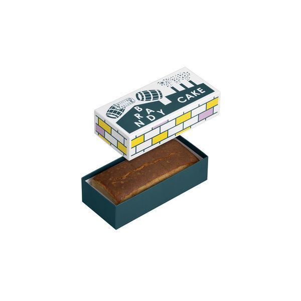 三越伊勢丹 資生堂パーラー ブランデーケーキ 1個 伊勢丹の贈り物 洋菓子