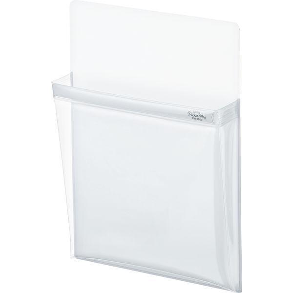セキセイ マグネットポケット ポケマグ A4サイズ 人気ブランド多数対象 1個 PM-2745-70 ホワイト 新作入荷!!