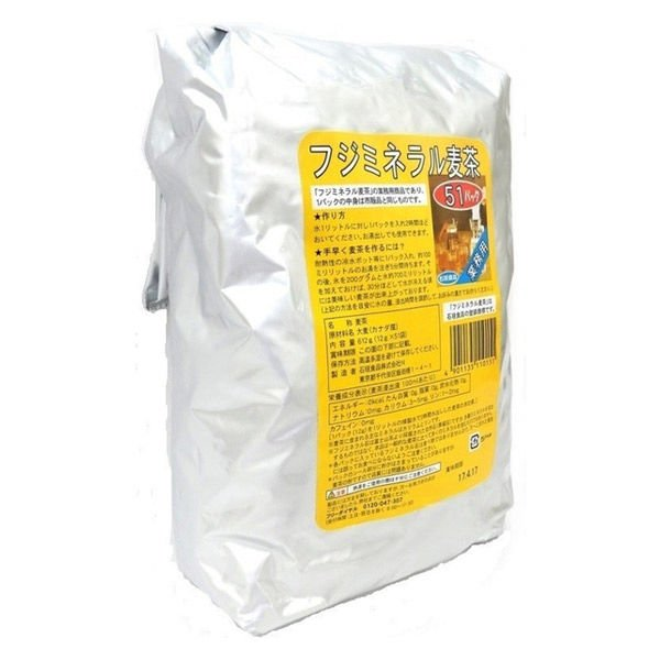 石垣食品 フジミネラル麦茶 業務用 大放出セール 51バッグ入 1袋 特価品コーナー☆