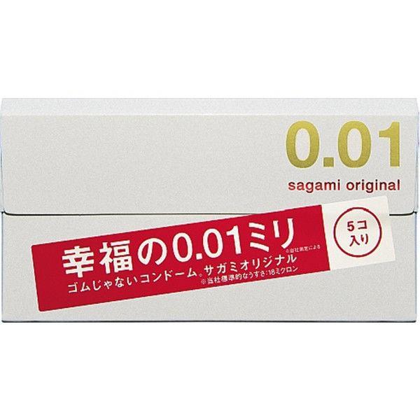 サガミオリジナル 0.01 コンドーム Mサイズ 薄め 激安通販ショッピング 相模ゴム工業 5個入 無料サンプルOK