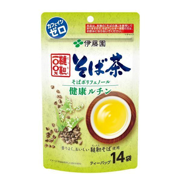 再販ご予約限定送料無料 伊藤園 伝承の健康茶 韃靼100% 14袋入 1個 初売り そば茶TB