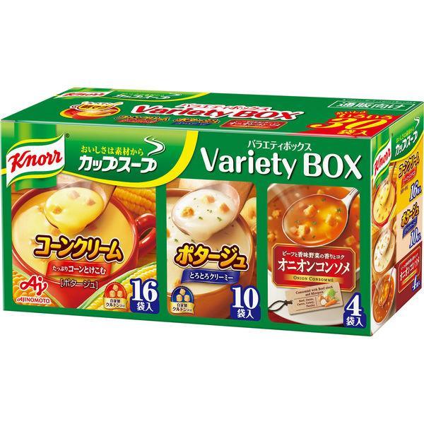 味の素 贈物 クノール カップスープ バラエティボックス 1箱 卸売り 30食入