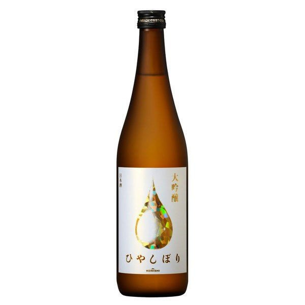 お見舞い 大吟醸ひやしぼり 現品 720ml 1本 KONISHI 小西酒造 日本酒