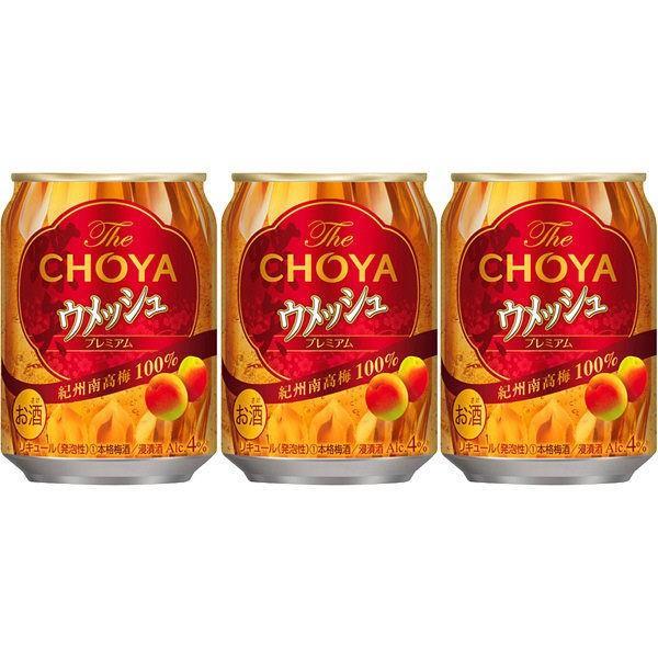 梅酒 缶 チョーヤ ウメッシュ 日本 業界No.1 250ml×3本 プレミアム