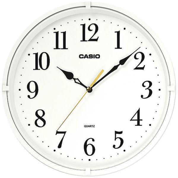 CASIO カシオ 年間定番 スムーズ秒針 掛け時計 スイープ IQ-88-7JF 1個 直径331mm 全国一律送料無料 シンプル