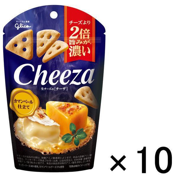 江崎グリコ 生チーズのチーザ カマンベール仕立て 1セット 10個 一部予約 与え