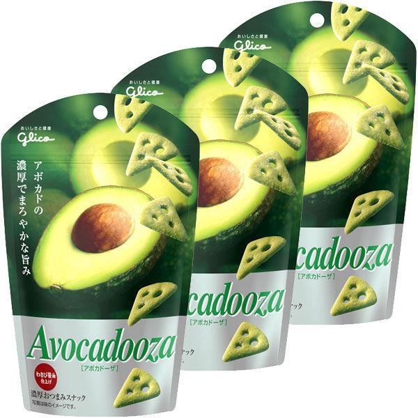 江崎グリコ アボカドーザ 40g 送料無料でお届けします 購入 3個 1セット