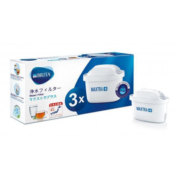 100%品質保証 ブリタ 公式ストア BRITA 浄水器 ポット型 ピッチャー 交換用 プラス 水分補給 カートリッジ マクストラ 日本正規品 3個入