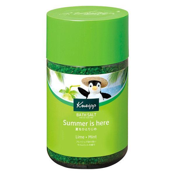 日時指定 数量限定 クナイプ バスソルト ライムミントの香り 850g 透明タイプ 激安セール クナイプジャパン
