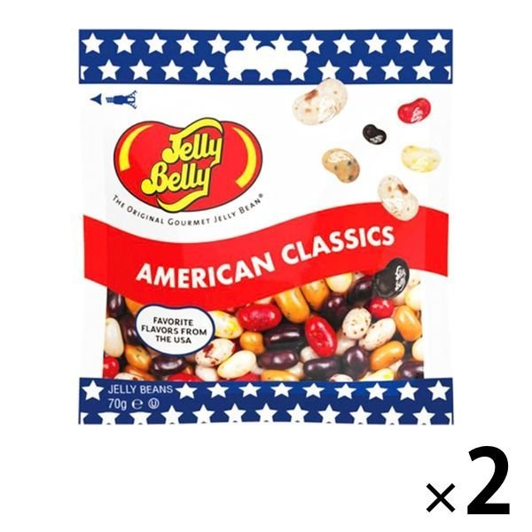 Jelly Belly ジェリーベリー アメリカンクラシック 爆買い送料無料 輸入菓子 正規品 グミ 2袋