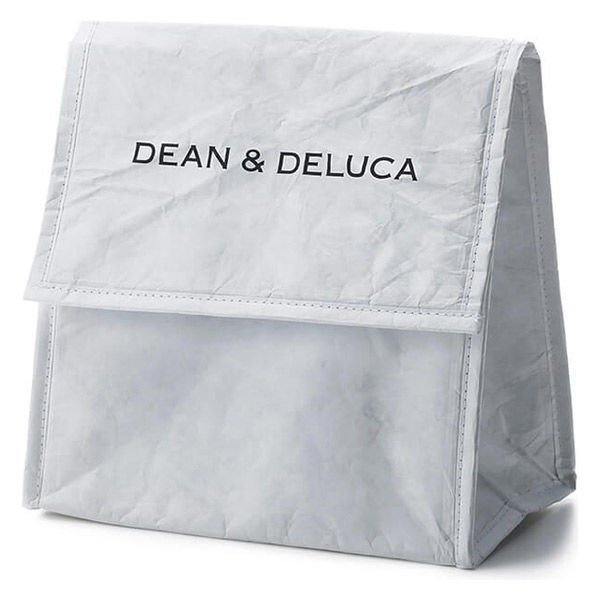 通販 激安◆ DEANamp;DELUCA ディーンアンドデルーカ Damp;D ランチバッグ 1個 おしゃれ 保冷バッグ ホワイト