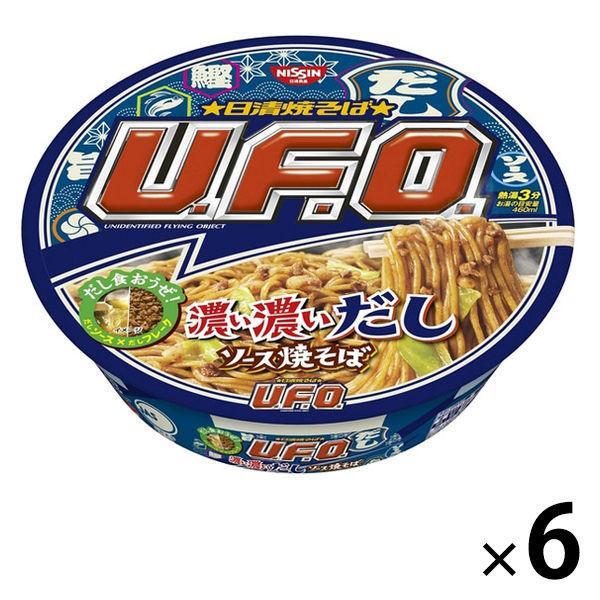 カップ焼きそば 日清食品 日清焼そば U.F.O. 6個 売店 濃い濃いだしソース焼そば 112g 新作続