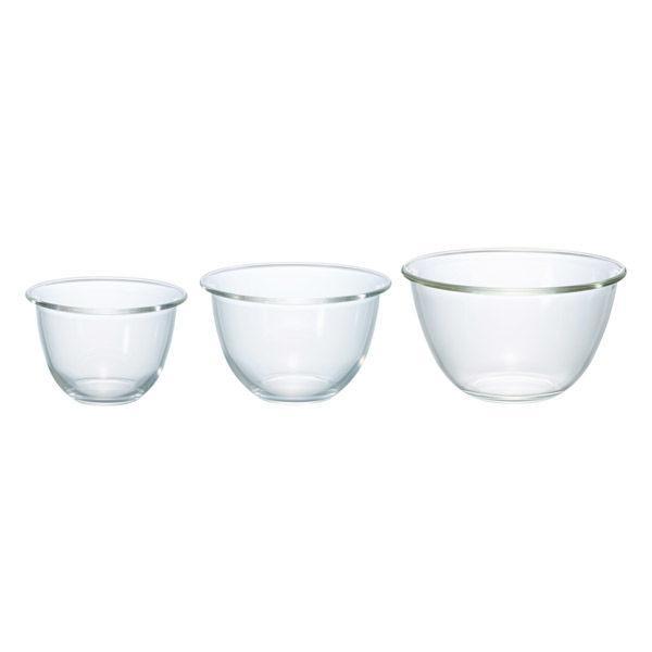 HARIO ブランド買うならブランドオフ ハリオ 耐熱ガラス製ボウル 3個セット 祝日