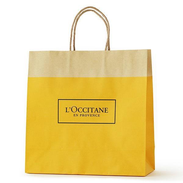 人気商品 L'OCCITANE ロクシタン ペーパーバッグ M ストア ギフト 紙袋 ショッパーバッグ
