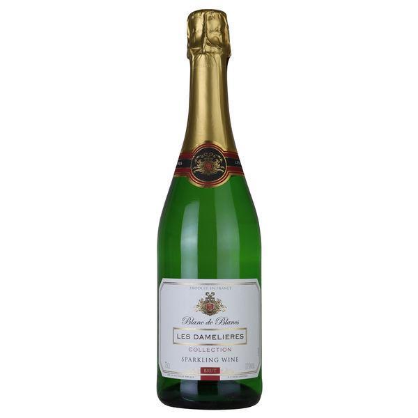 レ ダムリエール ヴァンムスー ブリュット11°750ml 1本 スパークリング フランス 白 セール特別価格 贈物 辛口 スパークリングワイン