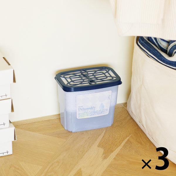 公式 LOHACO先行発売 除湿剤 返品送料無料 4-8ヶ月 800ml×3個パック アドグッド addgood Dehumidify ×3