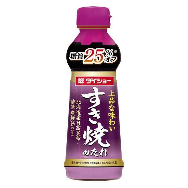 入手困難 ダイショー 糖質オフ すき焼のたれ 人気の定番 1本 340g