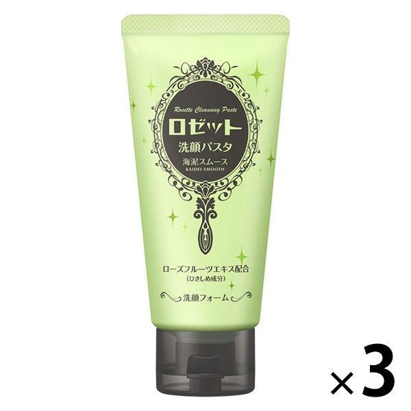 ロゼット 洗顔パスタ 海泥スムース 商店 3本 激安価格と即納で通信販売 毛穴対策
