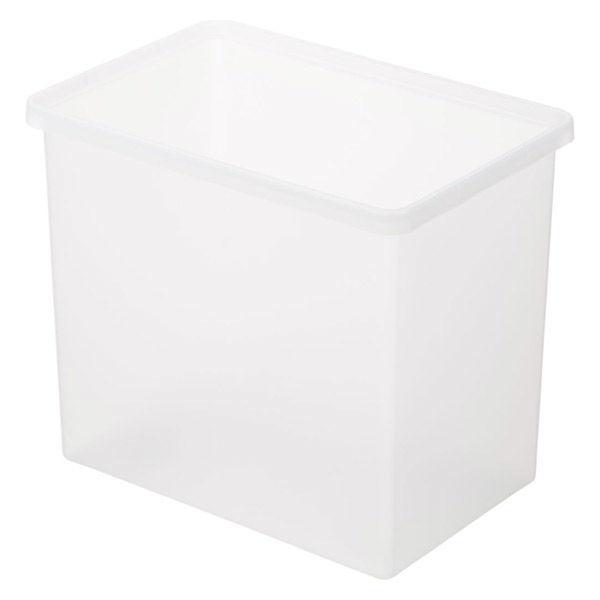 無印良品 予約 ポリプロピレン収納ボックス 深 幅37×奥行25×高さ31.5cm 良品計画 82219401 正規逆輸入品
