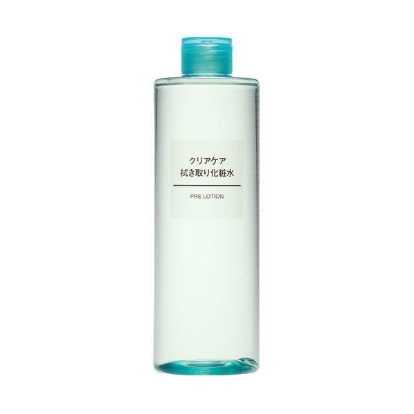 無印良品 クリアケア拭き取り化粧水 大容量 70%OFFアウトレット 良品計画 82202144 激安超特価 400ml