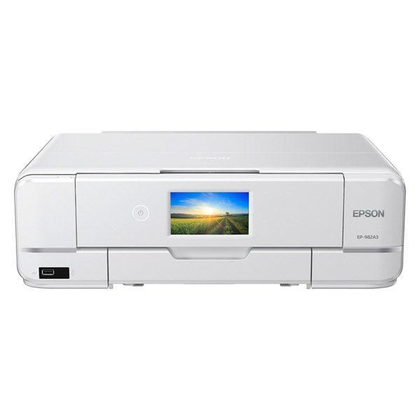 新作 大人気 エプソン プリンター 信憑 インクジェット複合機 カラリオ EP-982A3 白 コピー 6色インク 背面1枚手差し給紙 A3対応 スキャン機能あり