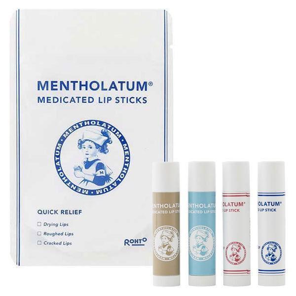 開催中 メンソレータム 薬用リップスティック 4個 限定デザイン お得なキャンペーンを実施中 ロート製薬