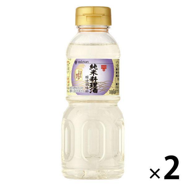 豪華な ミツカン 純米料理酒 300ml 2本 お買い得品