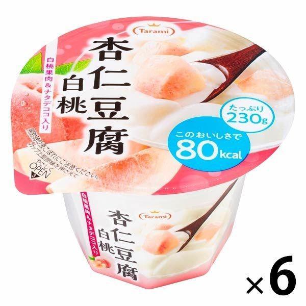 たらみ 低価格化 Tarami 杏仁豆腐白桃80kcal 最安値 6個