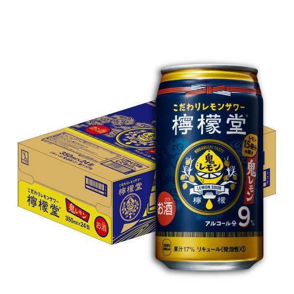 チューハイ 檸檬堂 鬼レモン 350ml レモンサワー 商品追加値下げ在庫復活 缶チューハイ 24本 期間限定特価品 1ケース