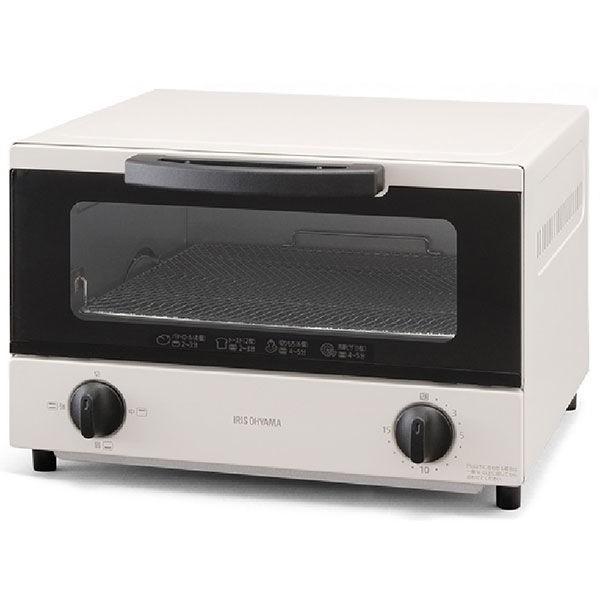 アイリスオーヤマ オーブントースター 4枚焼き ご注文で当日配送 ホワイト 返品不可 EOT-032-W