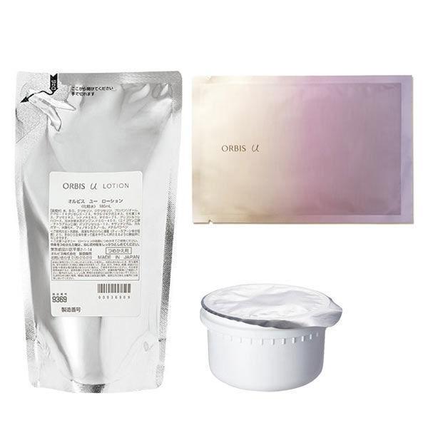 数量限定 ORBIS オルビス オルビスユー 値下げ 2ステップセット 限定マスク 新品未使用 詰替え 化粧水 保湿液