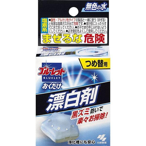 ブルーレットおくだけ漂白剤 トイレタンク芳香洗浄剤 詰め替え用 30g 上等 3個入 SALE 1セット 小林製薬